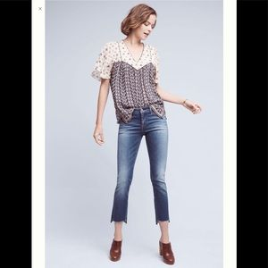 Anthropologie Pilcro Parallel Mid-rise Jeans
